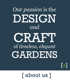 Icon About Us - Our passion is the design and craft of timeless, elegant gardens